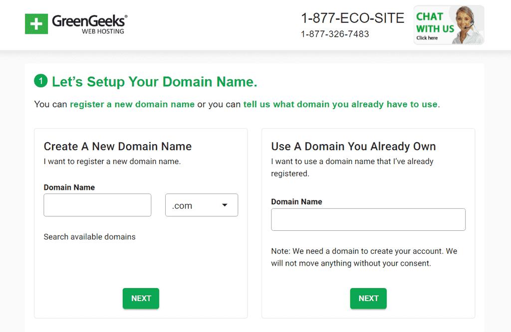 Domain Name Setup
