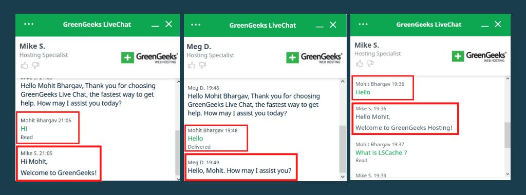 GreenGeeks Customer Support