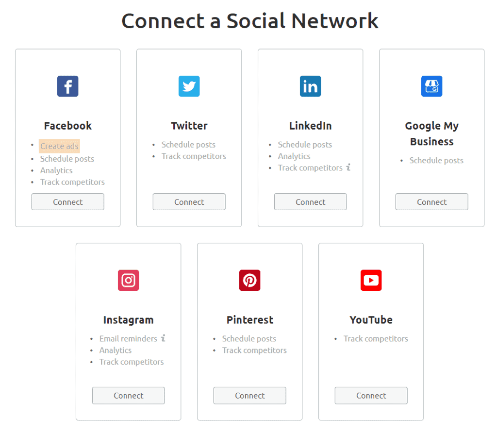 Semrush Social Media Research