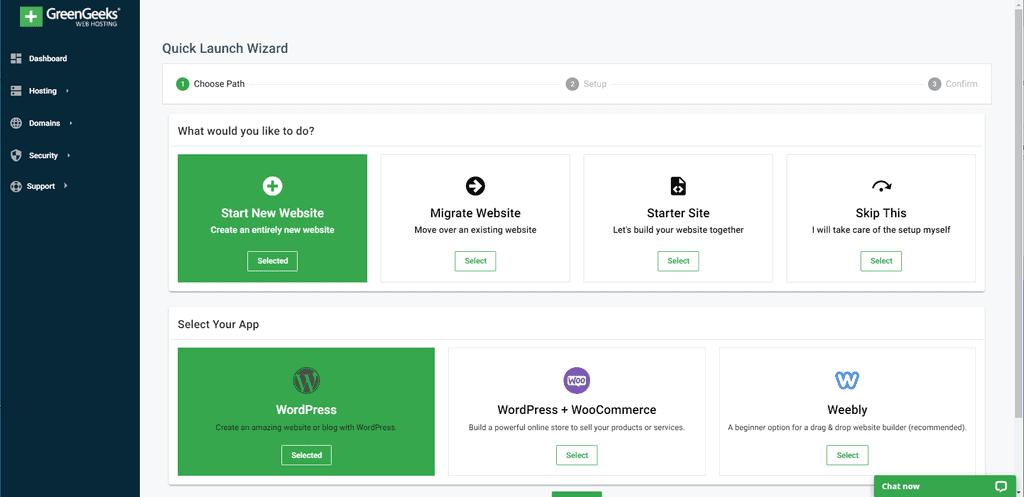 WordPress Install on GreenGeeks Server