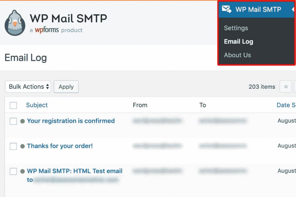 E-posta Girişi WP Mail SMTP